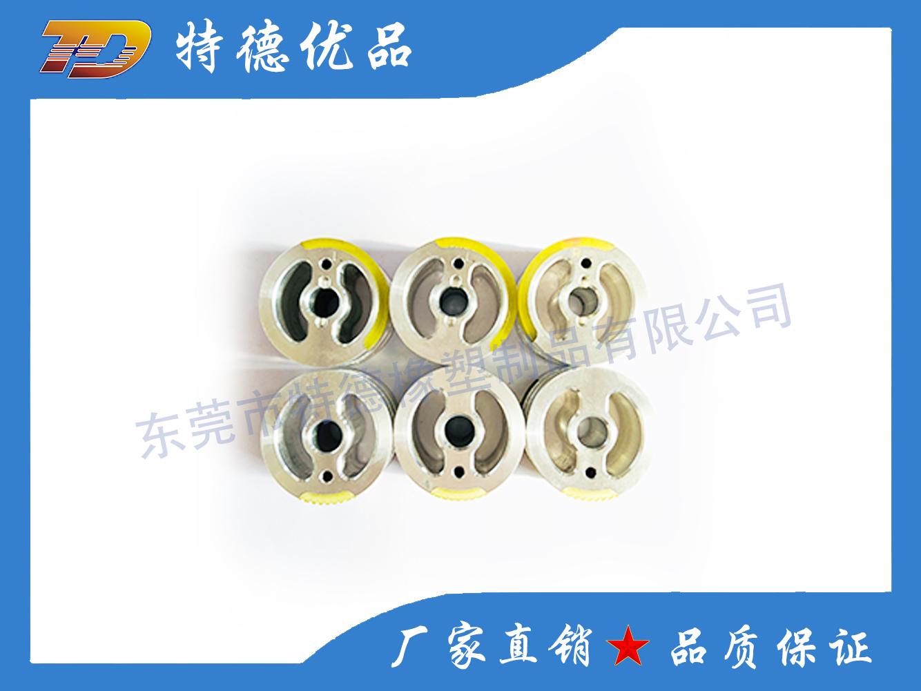 Aluminum core wheel cover