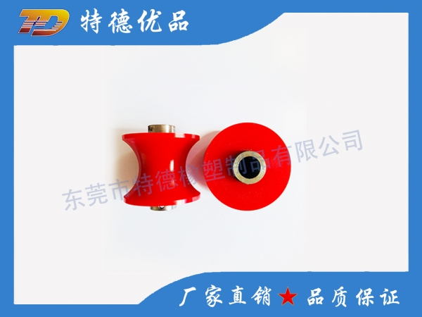 Special high temperature silicone roller