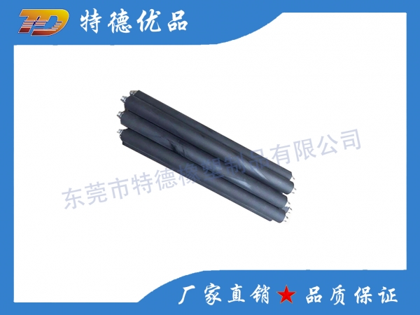 Film machine rubber roller
