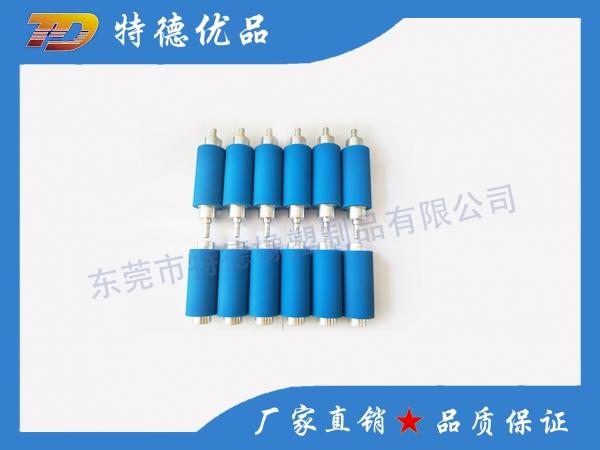 Silicone precision rubber roller