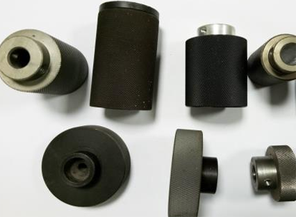 Polyurethane rubber roller features