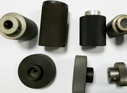 Polyurethane rubber roller features